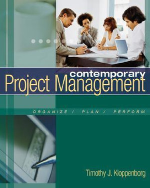Cover of Contemporary Project Management