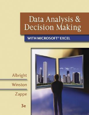 Cover of Data Analysis & Decision Making with Microsoft Excel