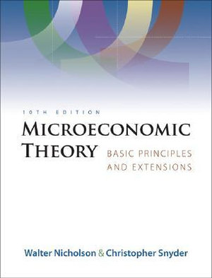 Cover of Microeconomic Theory: Basic Principles and Extensions