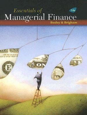 Cover of Essentials of Managerial Finance