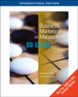 Cover of Business Marketing Management