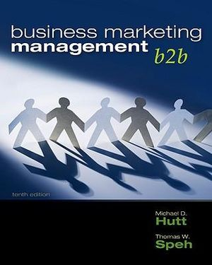 Cover of Business Marketing Management: B2B