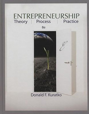 Cover of Entrepreneurship: Theory, Process, and Practice