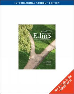 Cover of Business & Professional Ethics for Directors, Executives, & Accountants