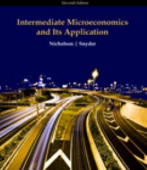 Cover of Intermediate Microeconomics and Its Application