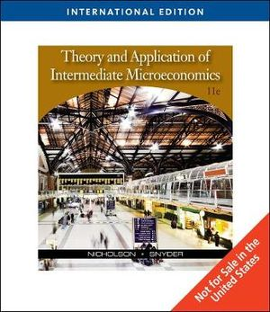 Cover of Intermediate Microeconomics and Its Applications, International Edition
