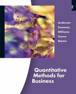 Cover of Quantitative Methods for Business