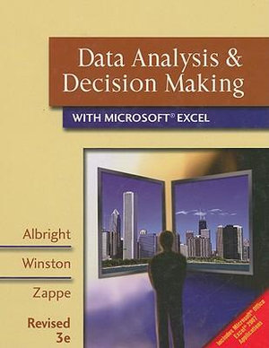 Cover of Data Analysis and Decision Making with Microsoft Excel, Revised