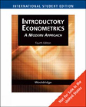 Cover of Introductory Econometrics