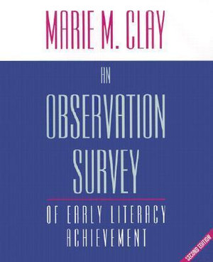 Cover of An observation survey