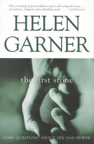 Cover of The First Stone