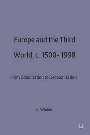Cover of Europe and the Third World