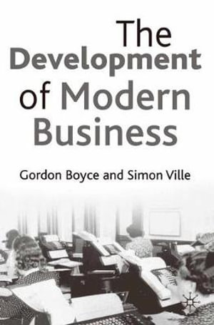 Cover of The Development of Modern Business