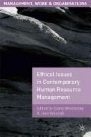 Cover of Ethical Issues in Contemporary Human Resource Management