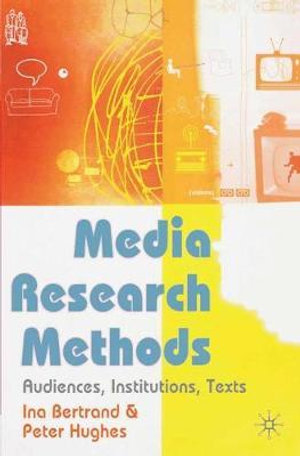 Cover of Media Research Methods