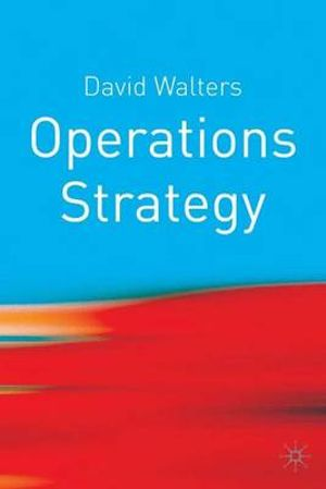 Cover of Operations Strategy