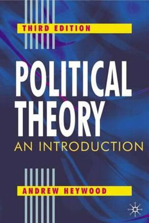 Cover of Political Theory