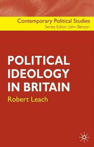 Cover of Political Ideology in Britain