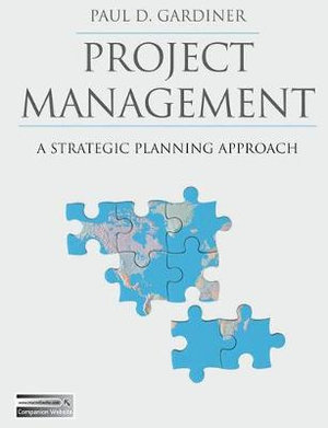 Cover of Project Management PUBLICATION CANCELLED