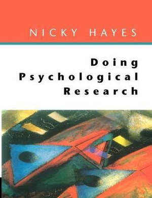 Cover of Doing psychological research
