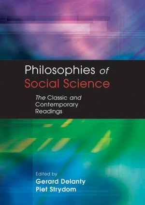Cover of Philosophies of social science