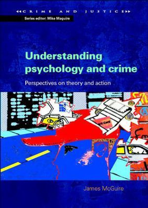 Cover of Understanding Psychology And Crime