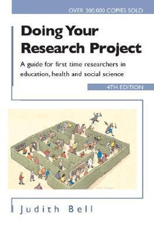 Cover of Doing Your Research Project 4/e