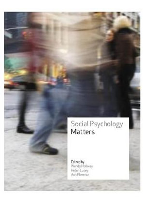 Cover of Social Psychology Matters