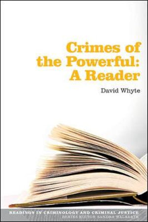 Cover of Crimes of the Powerful