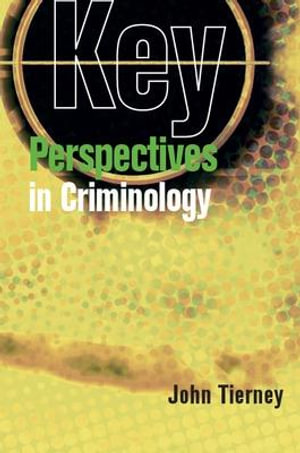 Cover of Key Perspectives In Criminology