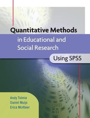 Cover of Quantitative Methods In Educational And Social Research Using Spss