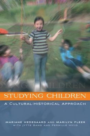 Cover of Studying Children: A Cultural-Historical Approach