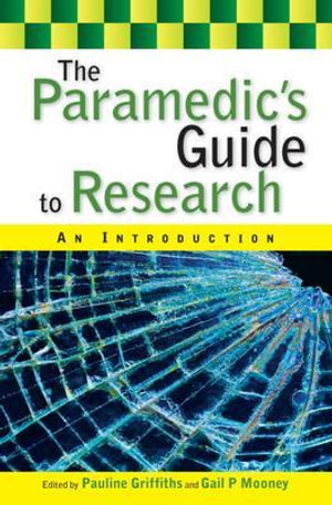 Cover of The Paramedic's Guide to Research