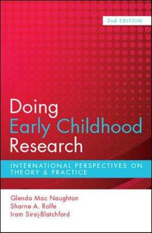 Cover of Doing Early Childhood Research