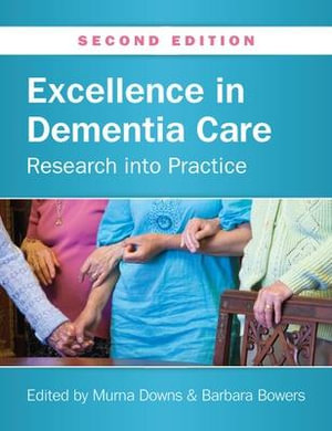 Cover of Excellence In Dementia Care: Research Into Practice