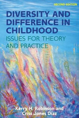 Cover of Diversity and Difference in Childhood