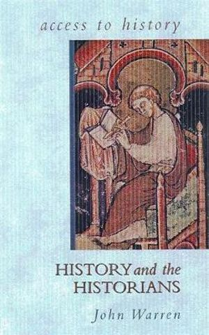 Cover of History and the Historians