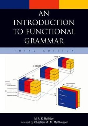 Cover of An Introduction to Functional Grammar