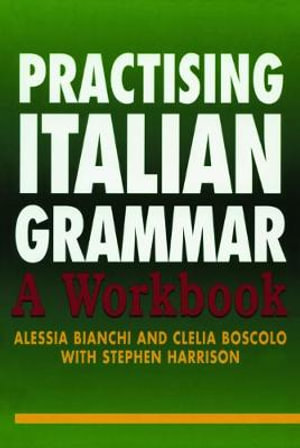 Cover of Practising Italian Grammar