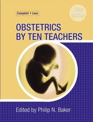 Cover of Obstetrics by Ten Teachers 18th Edition