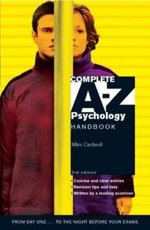 Cover of Complete A-Z Psychology Handbook