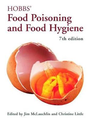 Cover of Hobbs' Food Poisoning and Food Hygiene, Seventh Edition