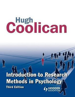 Cover of Introduction to Research Methods in Psychology