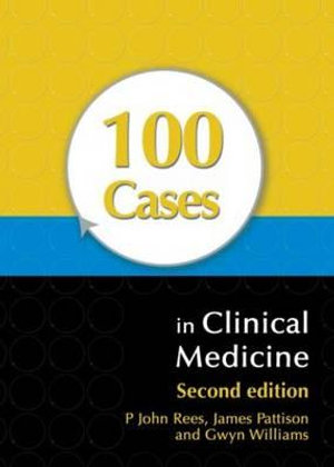 Cover of 100 Cases in Clinical Medicine, Second Edition