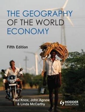 Cover of The Geography of the World Economy