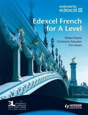 Cover of Edexcel French for A Level Students Book