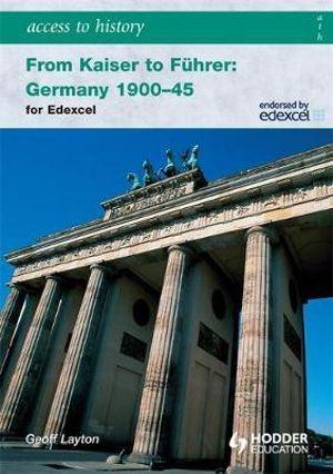 Cover of From Kaiser to Führer