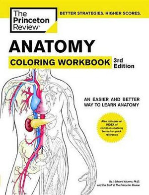 Cover of Anatomy Coloring Workbook