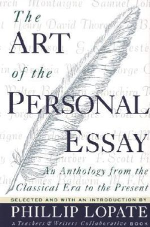 Cover of The Art of the Personal Essay