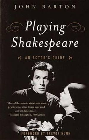 Cover of Playing Shakespeare